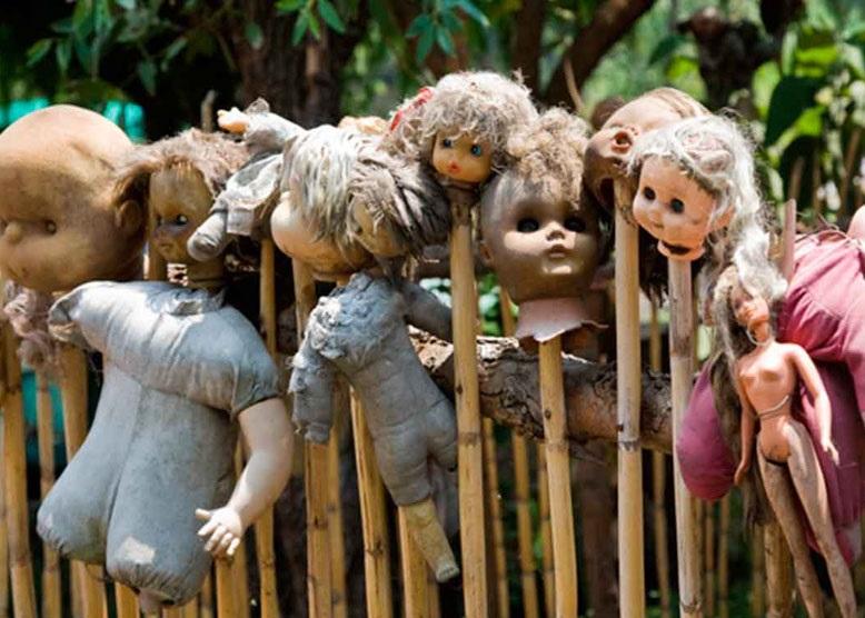 جزیره عروسک ها جزیره ای ترسناک در مکزیک