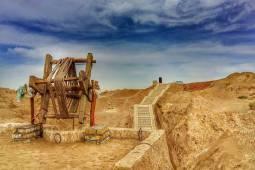 قنات قصبه گناباد با قدمت 2500 ساله