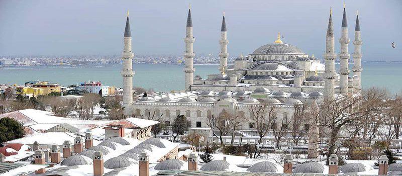 آب و هوای استانبول در ماه های مختلف سال