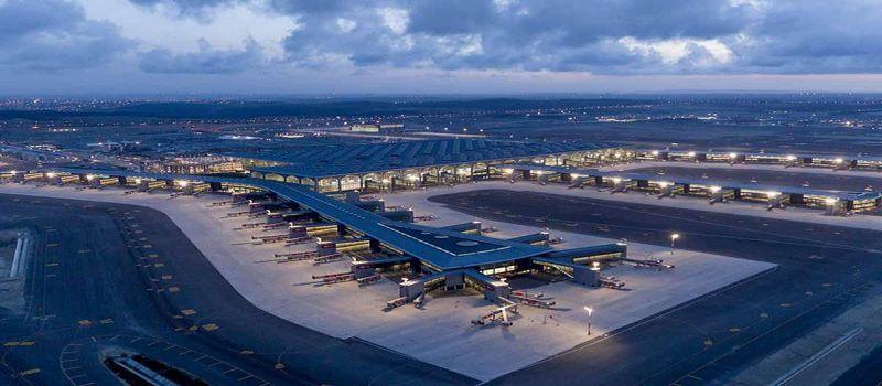مگا فرودگاه استانبول، بزرگ ترین سینگل ترمینال دنیا