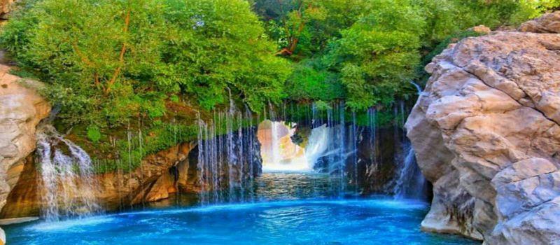 آبشار آب ملخ کجاست و چگونه به آنجا برویم؟