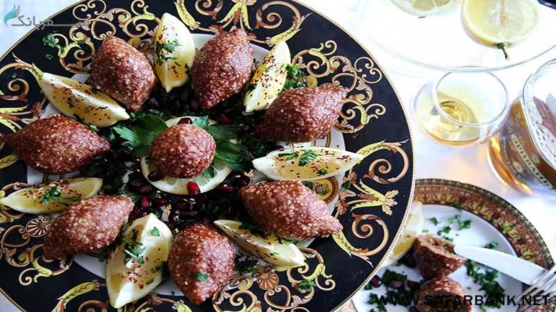 کوفته غذای ارمنی