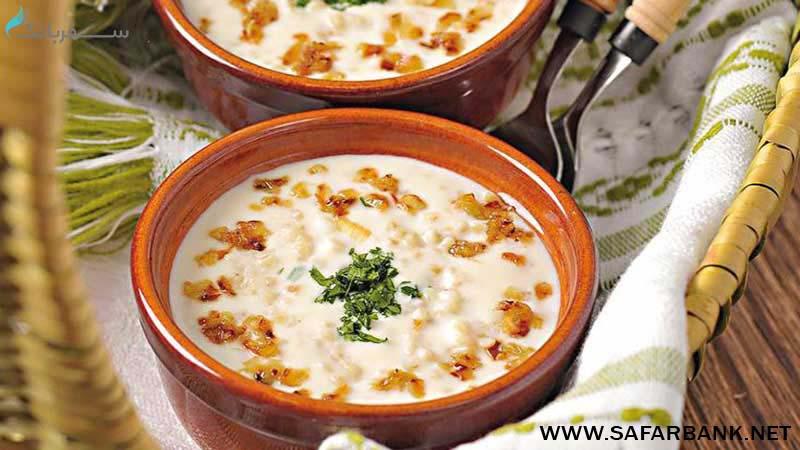 چولومبور آپور غذای ارمنی