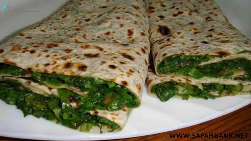 ژینگیالو هاتس غذای ارمنی