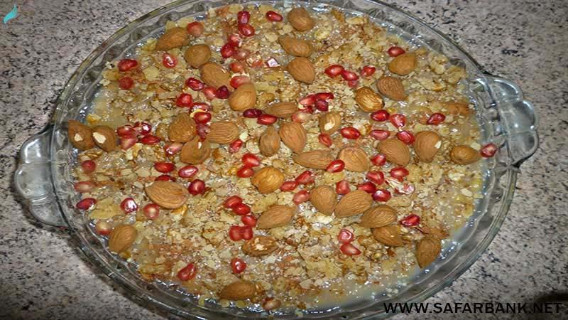 آنوشاپور غذای ارمنی
