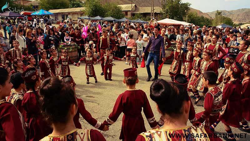 شرکت در فستیوال های ارمنستان