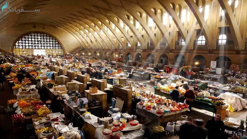 بازار گوم شوکای در ارمنستان