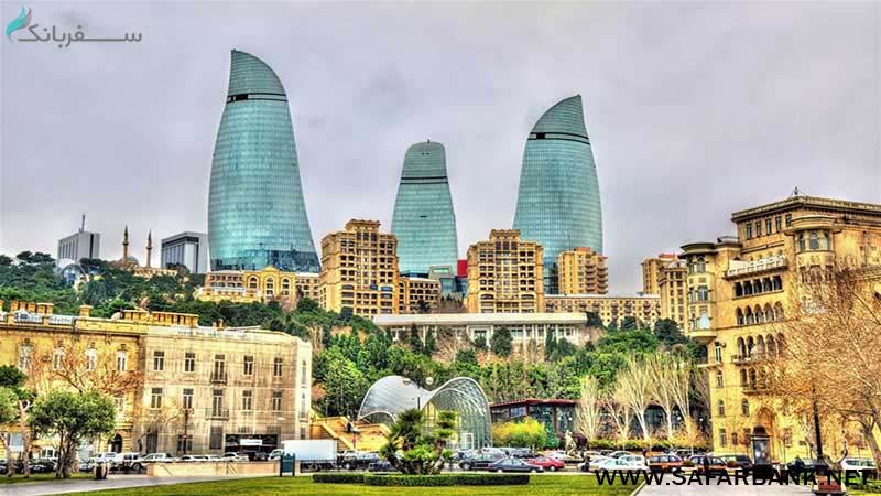 برج شعله باکو