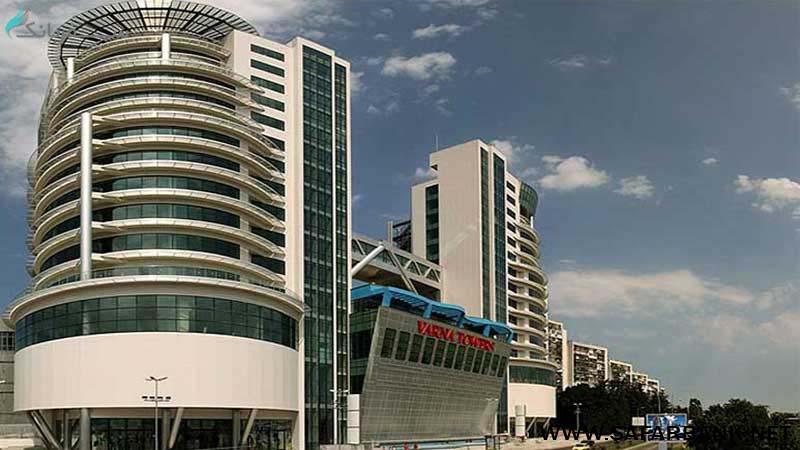 مرکز خرید برج های وارنا