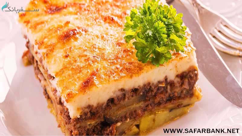 موسکا غذای بلغاری