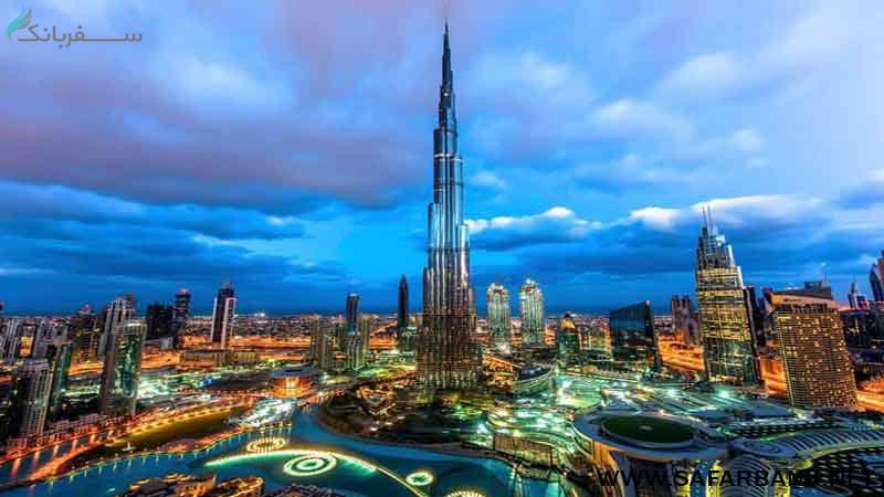 برج خلیفه نماد دبی
