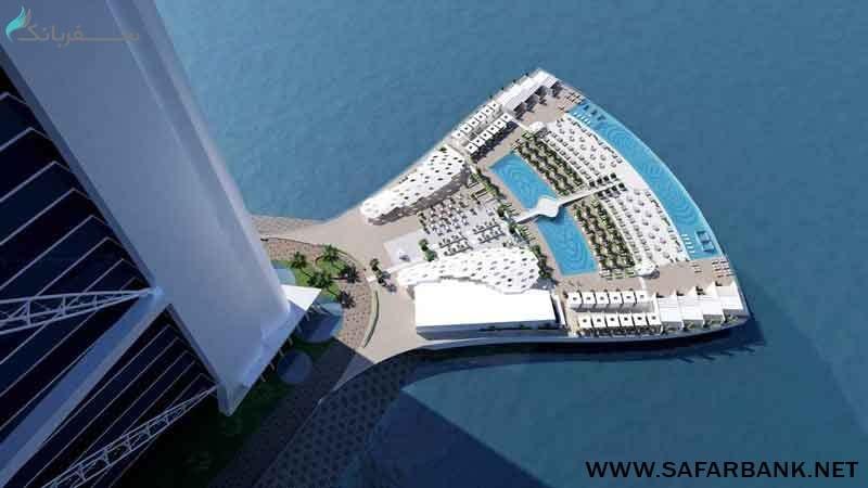 فضای خارجی برج العرب