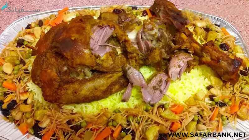 غذای قوزی دبی