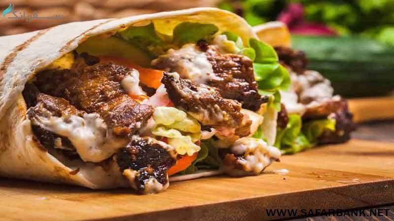 غذای شاورما در دبی
