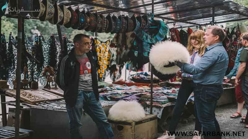بازار بریج مارکت در تفلیس