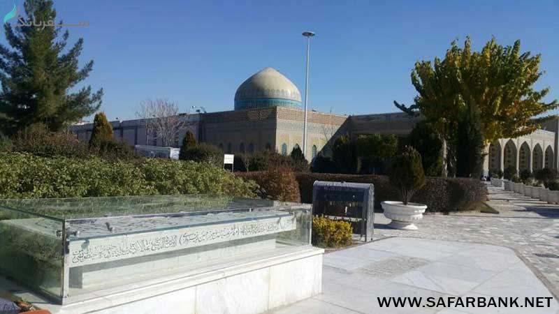 صحن رضوان در مشهد