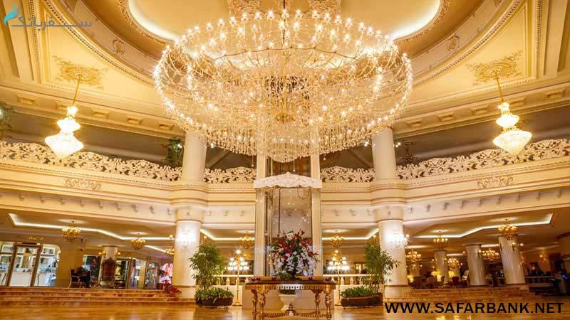 هتل قصر طلایی در مشهد