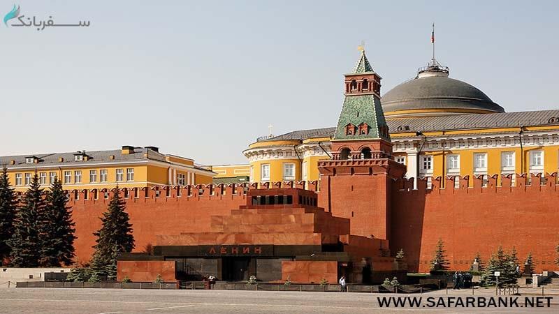 آرامگاه لنین (Lenins Mausoleum at Red Square)