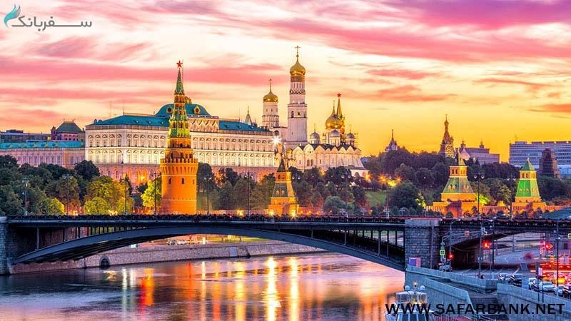 بهترین زمان سفر به مسکو