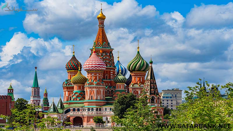کلیسای سنت باسیل مسکو (St Basils Cathedral)
