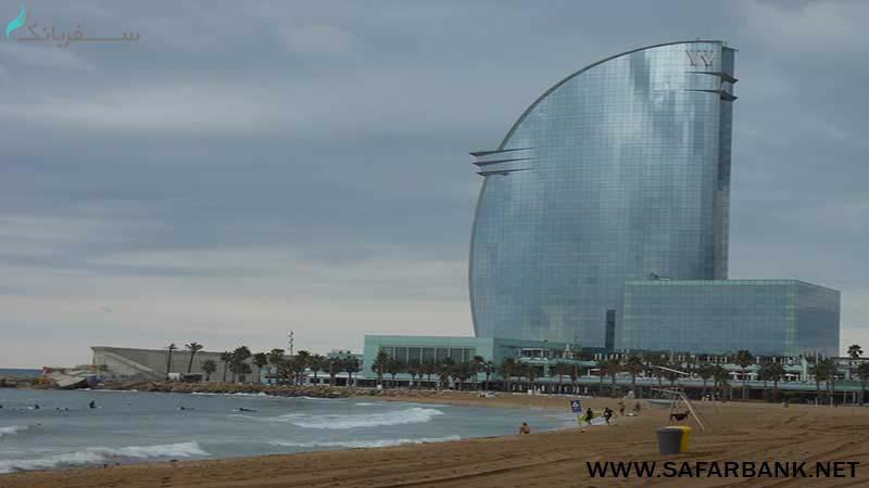 هتل دبلیو بارسلونا
