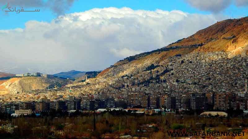 کوه قاسیون در سوریه