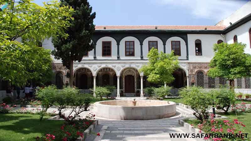 خانه عنبر دمشق در سوریه