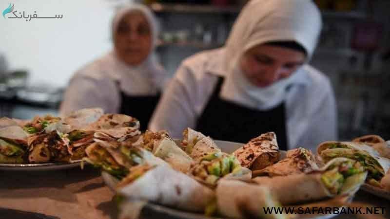 بهترین غذاهای سفر در سوریه