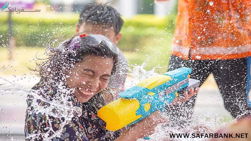جشنواره آب بازی تایلند