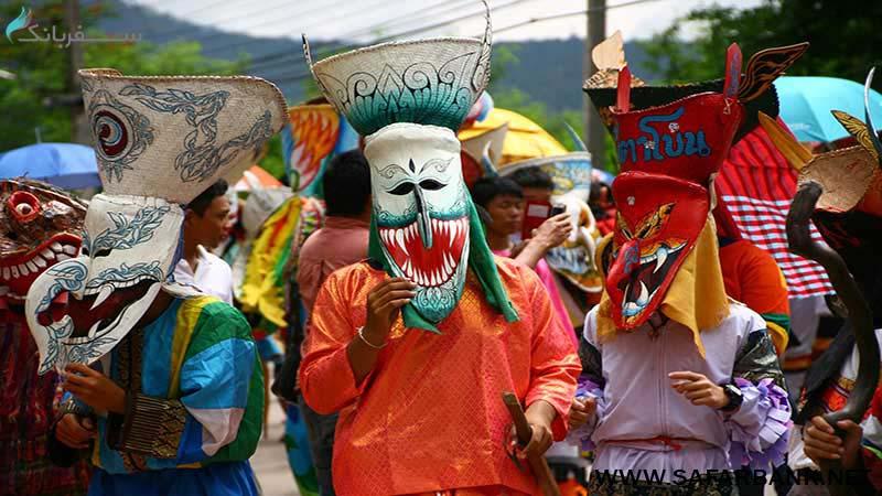 جشنواره ارواح گرسنه تایلند