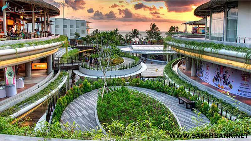 مرکز خرید بیچ واک در بالی