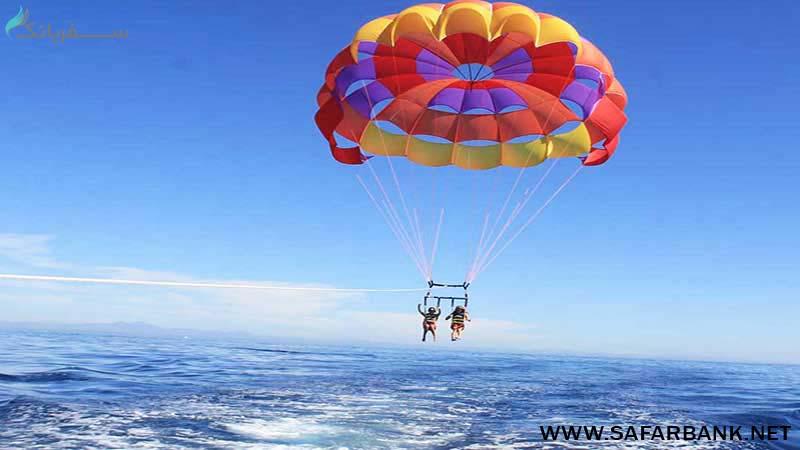 تفریحات آبی در بالی