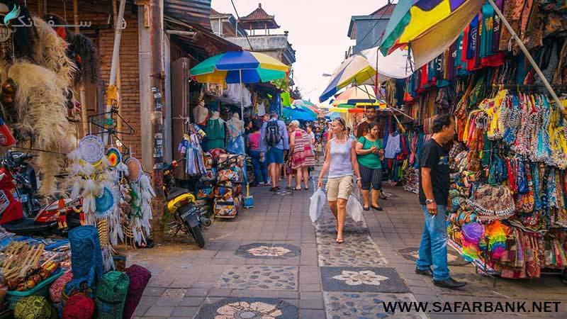 بازار یوبود در بالی