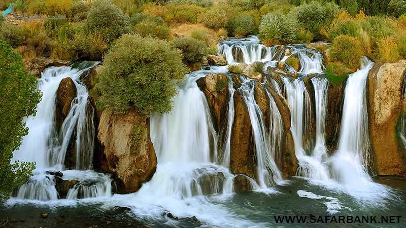 آبشار مرادیه در وان