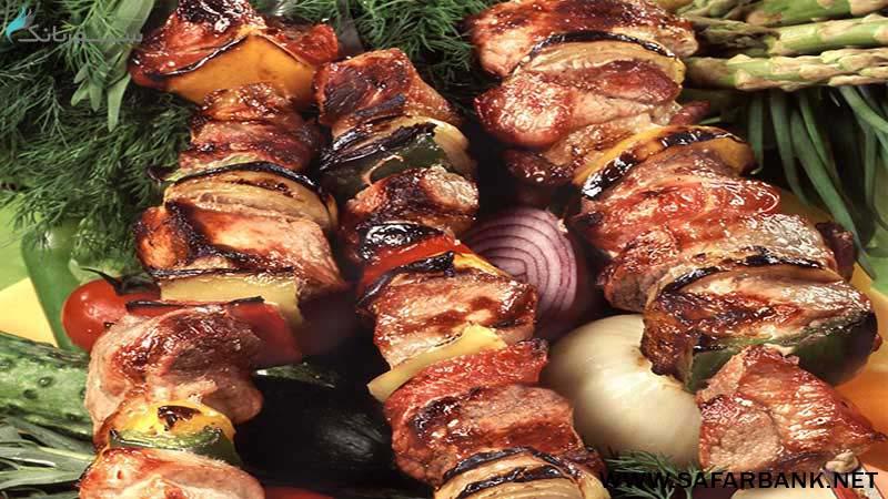 شامپوز غذای ارمنستان