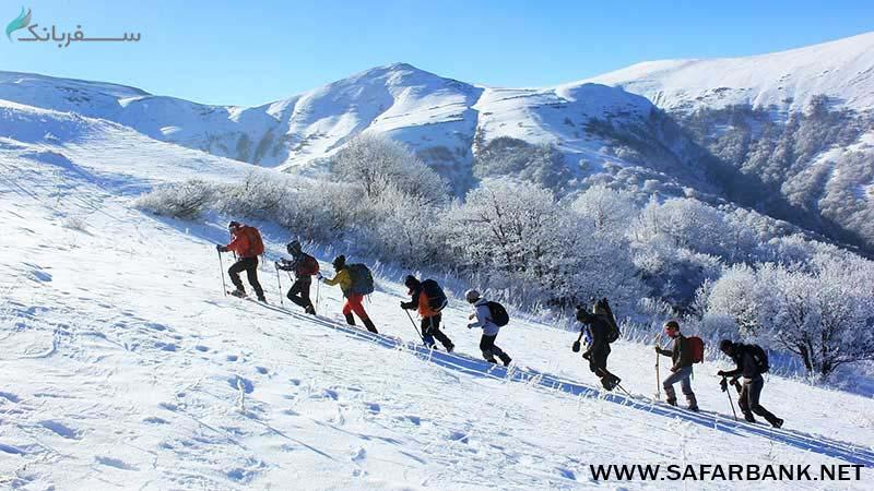 تفریحات زمستانی ایروان