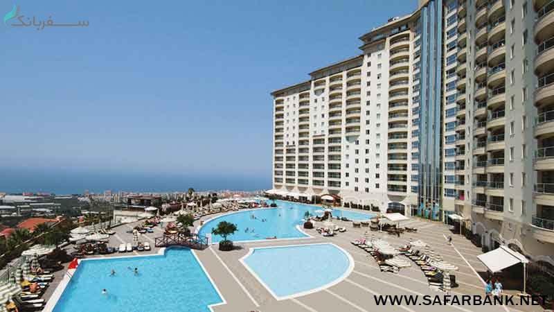 هتل گلد سیتی آلانیا